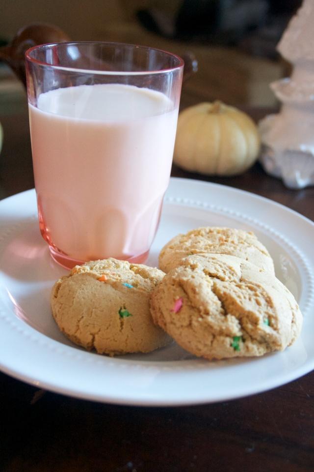 gluten free cake batter cookies