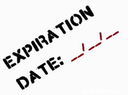 Expiration & Spring Cleaning